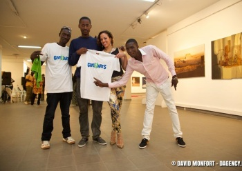 Jacqueline Cofield, Give1Arts, National Gallery Dakar