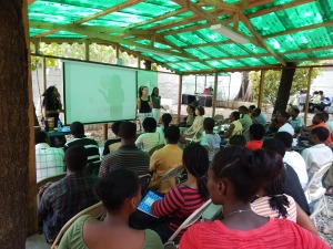 Jacqueline Cofield, Haiti, Vendedy
