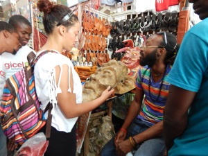 Jacqueline Cofield, Haiti, Vendedy, Frantz Providence