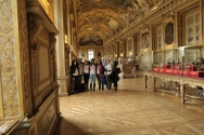 J Rêve Paris Global Educators cohort at the Louvre Museum